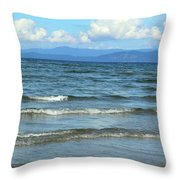 The Tide Was High Throw Pillow