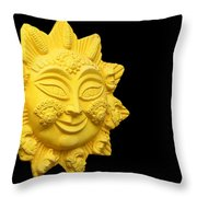 The Time Of No-time Throw Pillow