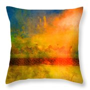 The Timing Throw Pillow