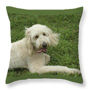 The Tongue Throw Pillow