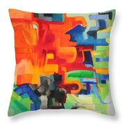 The Torah Is Aquired By Learning Throw Pillow