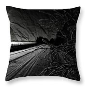 The Torn Letter  Throw Pillow