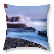 The Touch Of The Sea Throw Pillow