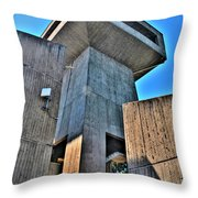 The Tower At The Erie Basin Marina Throw Pillow