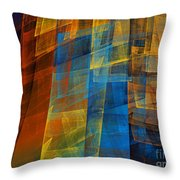 The Towers 2 Throw Pillow