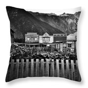 The Town Throw Pillow