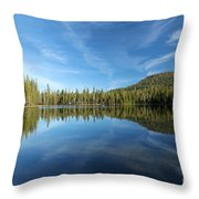 The Tree Line Throw Pillow