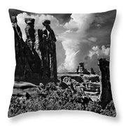 The Tribunal Arches National Park Throw Pillow