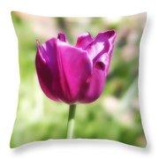 The Tulip Throw Pillow