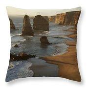 The Twelve Apostles Throw Pillow
