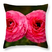 The Twin Love Throw Pillow