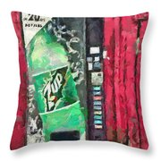 The Uncola Throw Pillow