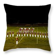 The United States Marine Band Throw Pillow
