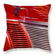 The U.s. Congress Fire Dept. Throw Pillow