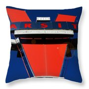 The Varsity Throw Pillow