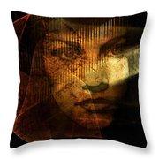 The Veil Throw Pillow