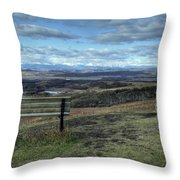 The View Point Throw Pillow
