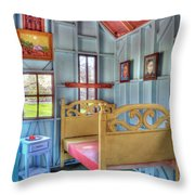 The Vincent Van Gogh Small House Throw Pillow