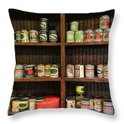 The Vintage Pantry At Vulcan Throw Pillow