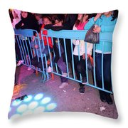 The Waiting Audience Throw Pillow