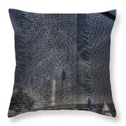The Wall That Heals Throw Pillow
