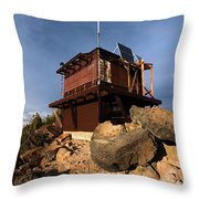 The Watchman Tower Throw Pillow