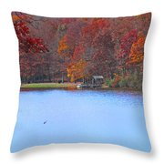 The Watershed Throw Pillow