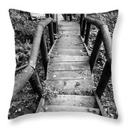 The Way Down Throw Pillow