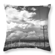 The Way Of The Wind Palm Springs Throw Pillow