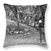 The Way Up...stockholm Throw Pillow
