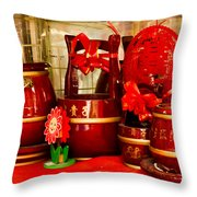 the Wedding Gifts Shop at the Qibao Ancient Town Throw Pillow