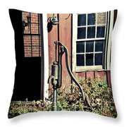 The Well Has Run Dry Throw Pillow