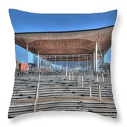 The Welsh Assembly Building Throw Pillow
