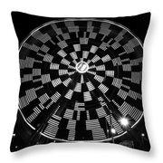 The Wheel That Ferris Built Throw Pillow