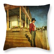 The Wild West Throw Pillow
