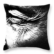 The Wince Of Wonder Throw Pillow