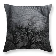 The Wind And Its Cuts Throw Pillow