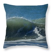 The Windblown Wave Throw Pillow