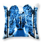 The Wings Of Fallen Angels Throw Pillow