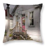 The Wren's Nest Throw Pillow