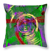 The Writing On The Wall 9 Throw Pillow