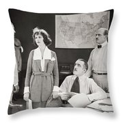 The Yelllow Typhoon, 1920 Throw Pillow by Granger