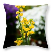 The Yellow Delight Throw Pillow