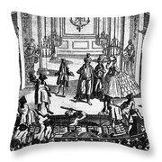 Theater: Covent Garden Throw Pillow