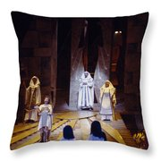 Verdi's Aida Throw Pillow