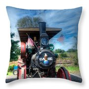 Then End Of The Day For The Case Throw Pillow