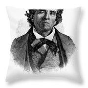 Theodore D. Weld (1803-1895) Throw Pillow