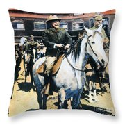 Theodore Roosevelt, 1903 Throw Pillow