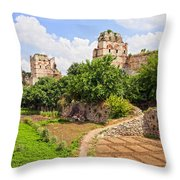 Theodosius Walls In Istanbul Throw Pillow