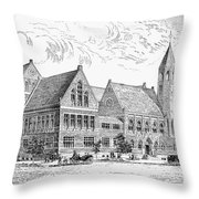 Theological Seminary, 1884 Throw Pillow